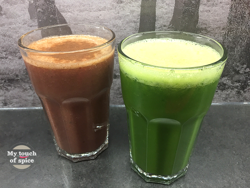 Gemüse-Obst-Saft