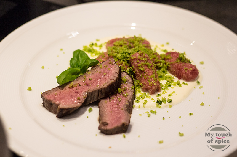 dry aged beef - sous vide